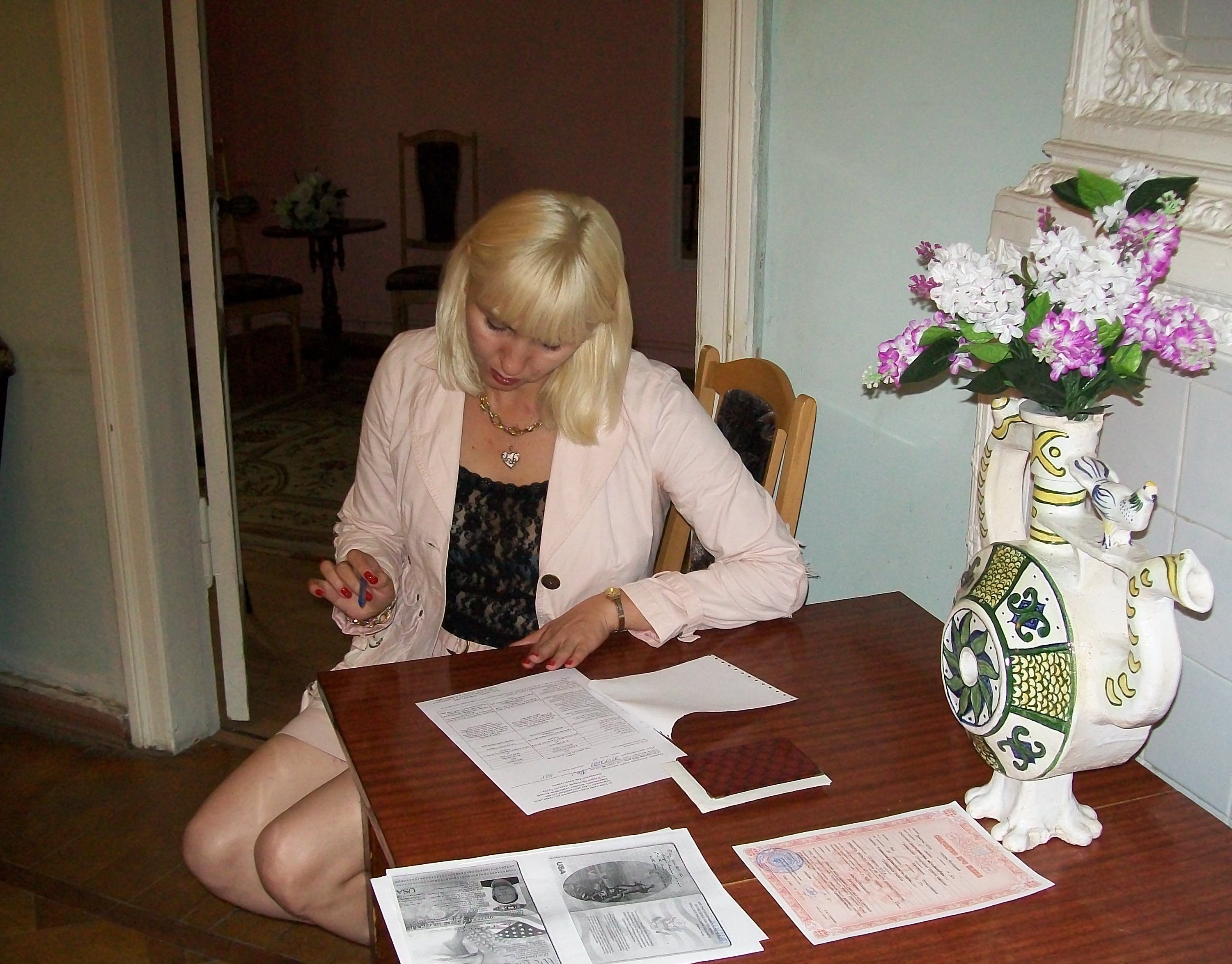 Doty Marriage agencies in ukraine of Mouth