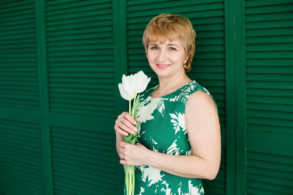 Single female Marina, 47 y/o, from Kharkov, looking for male, girls for . Women from Ukraine. I hope to find my happiness because every woman wants to have someone who will be loving her and caring about her. I am very kind and calm person, I am happy mother and grandmother, I have beautiful daughter, 2 beautiful grand-daughters and nice son-in-law. I am here to open my heart and soul for nice and family oriented man..