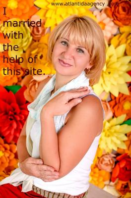 Single female Yana, 49 y/o, from Kharkov, looking for male, girls for . Women from Ukraine. I believe in sincere and honest feelings between man and woman, I believe in trustworthy and respect. For me is very important to feel comfortable with my man and to play an important role in his life. I am looking for marriage and hope to be good wife and good friend for my man!.